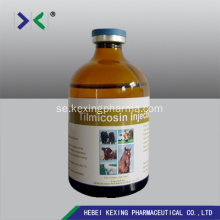 Animal Tilmicosin Injection 25% / 30%